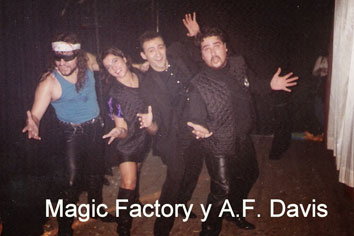 Magic Factory - A. F. Davis